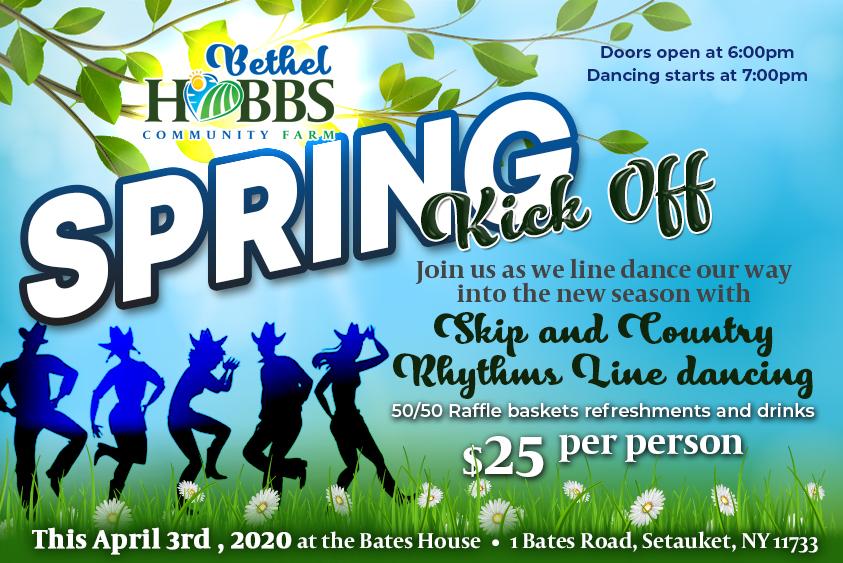 Spring Kick Off at Bethel Hobbs Farm
