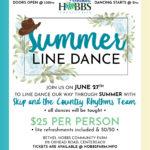 Summer Line Dancing at Bethel Hobbs Farm